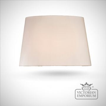 Tapered Oval Lamp Shade in Oyster - 53cm