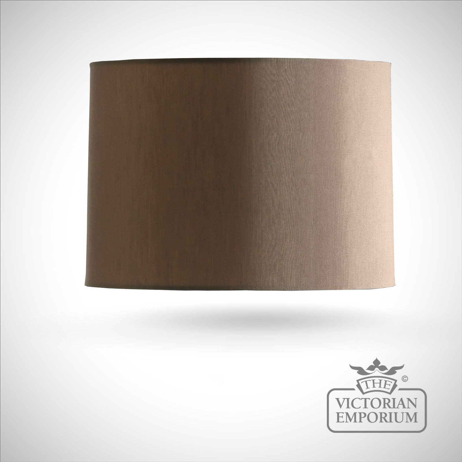 Lamp shades interior lights the victorian emporium bronze cylinder lamp shade 36cm aloadofball Image collections
