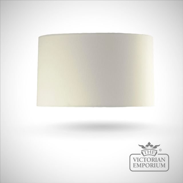 Cylinder Lamp Shade in Cream - 42cm