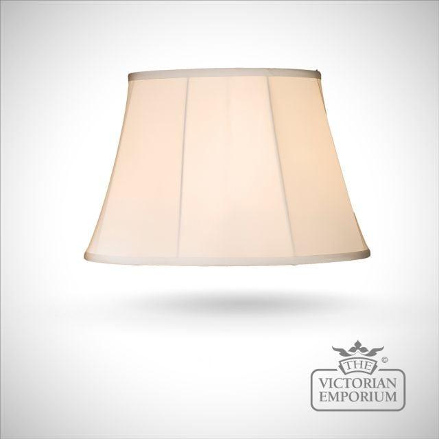 Empire Lamp Shade in White - 46cm