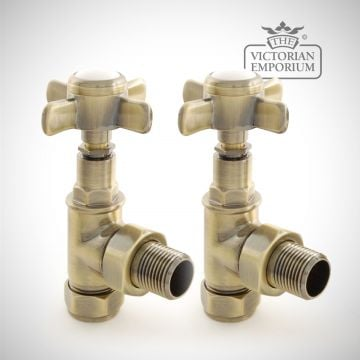 "Pimlico 1/2"" Manual Radiator valve set"
