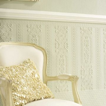 Lincrusta Wallpaper Dado Panel - VE1966