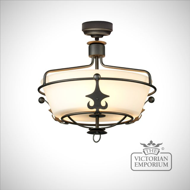 Winsor Semi Flush Ceiling Light
