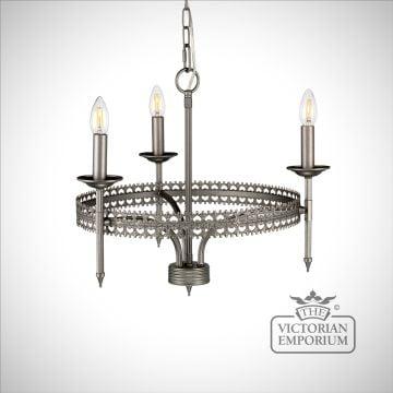 Crown Three Light Pendant