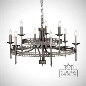 Crown Nine Light Pendant