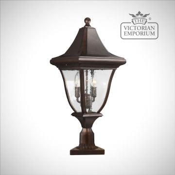 Oakmount Pedestal Lantern