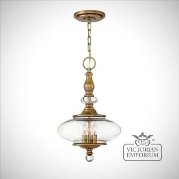 Wexford 3 light ceiling pendant