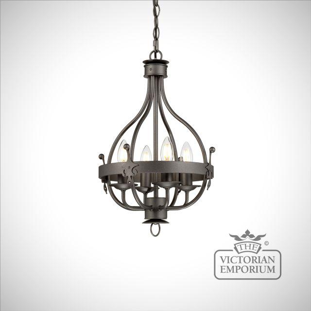 Winsor 4 light chandelier