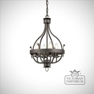 Winsor 4 light chandelier