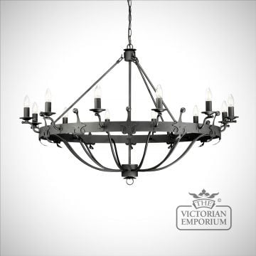 Winsor 12 light chandelier