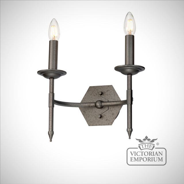 Crown Double Wall Sconce