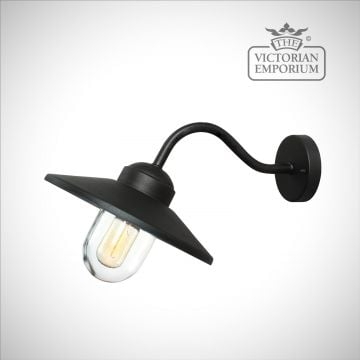 Klampenborg wall lantern in black