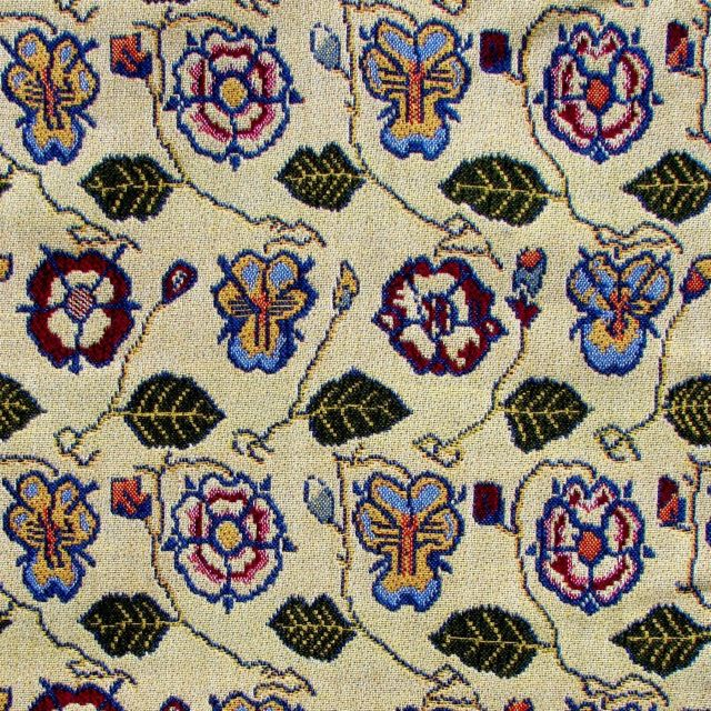 Rose and Pansy Fabric