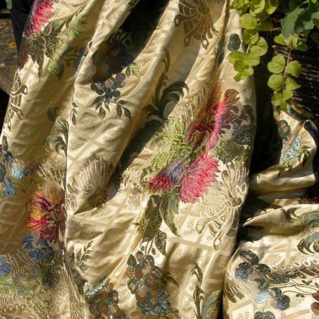 Quart Fabric - Cream