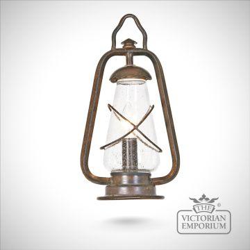 Miners pedestal lantern