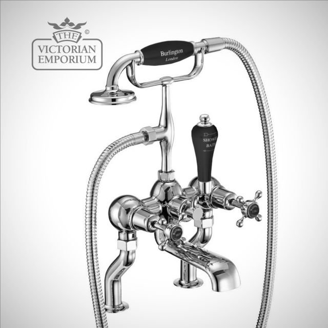 Clearmont Deck mounted bath and shower mixer
