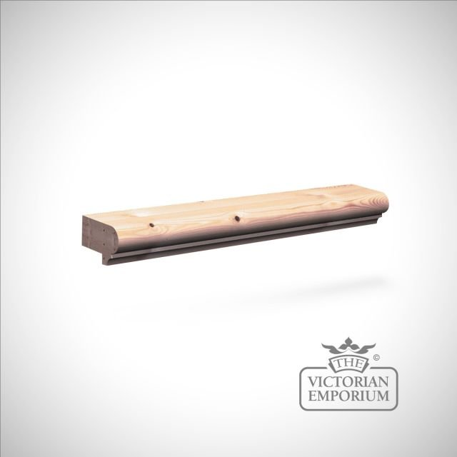 Rebated Capping Moulding for wooden wall panelling 56 x 32mm in Pine or Oak