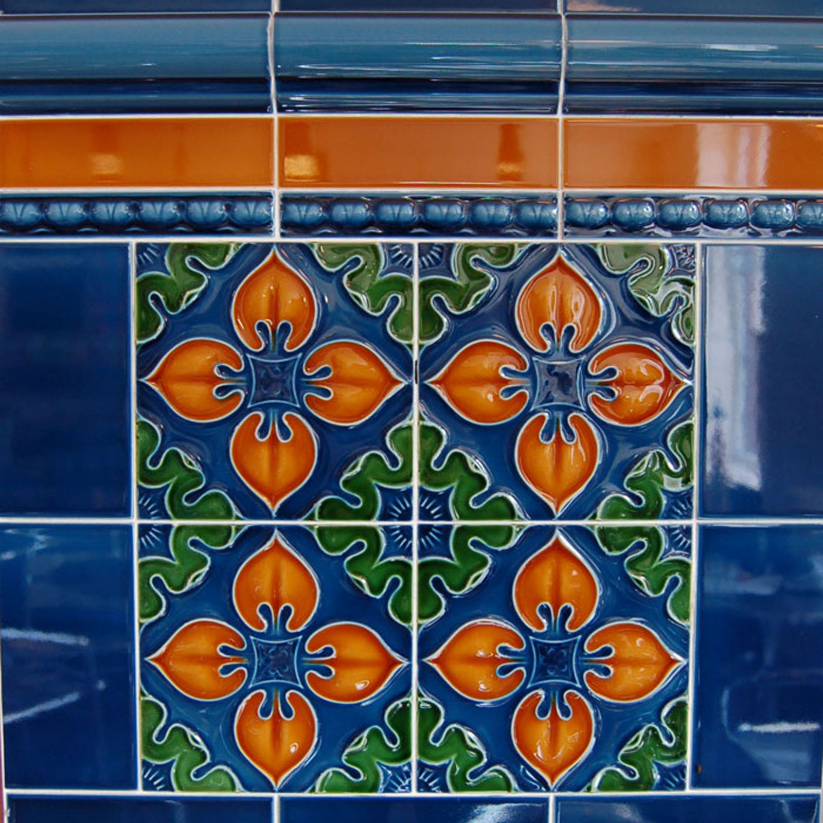 Victorian Benthall Multi Coloured Decorative Tiles