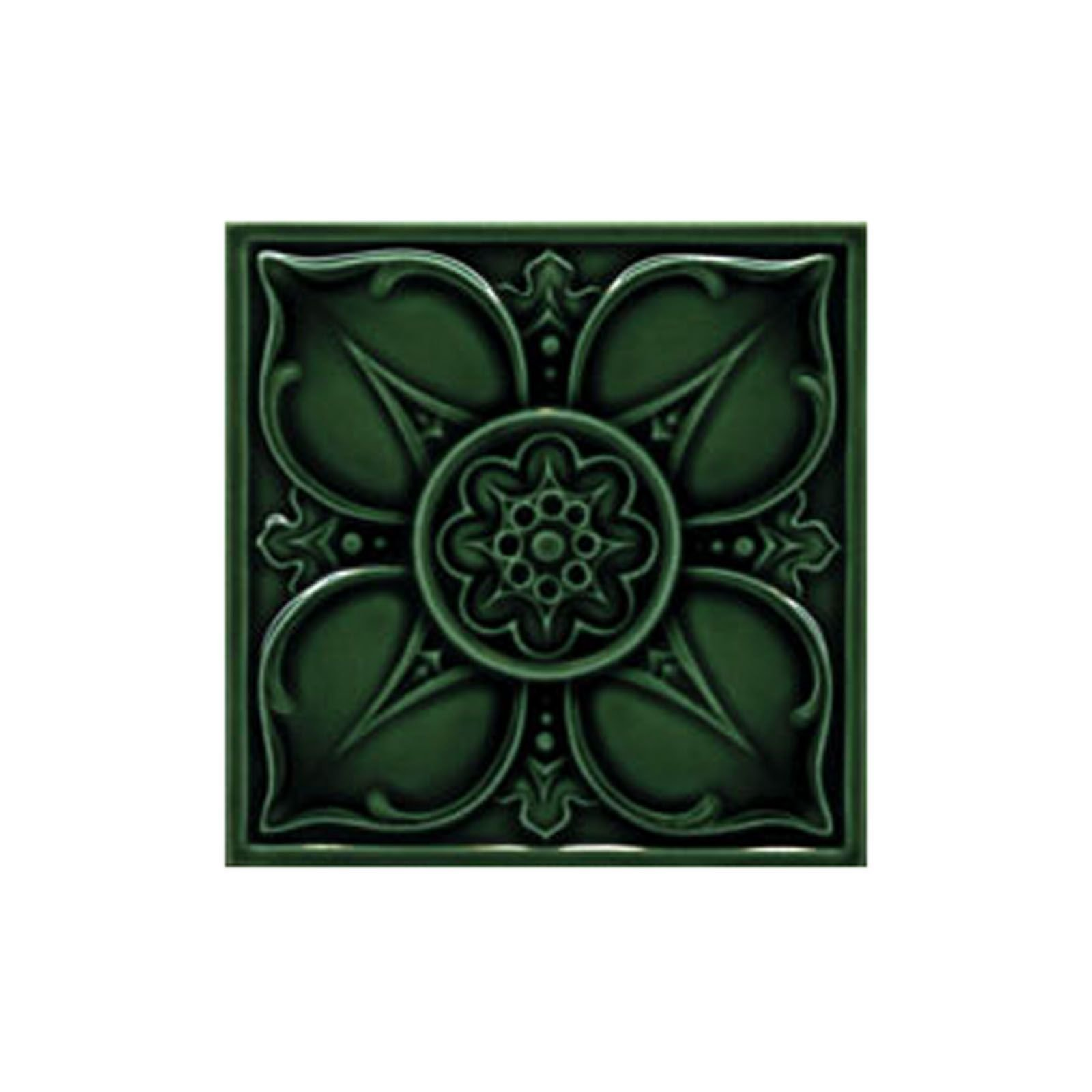 Decorative Wall Tile Patterns : Victorian leighton single colour decorative tiles
