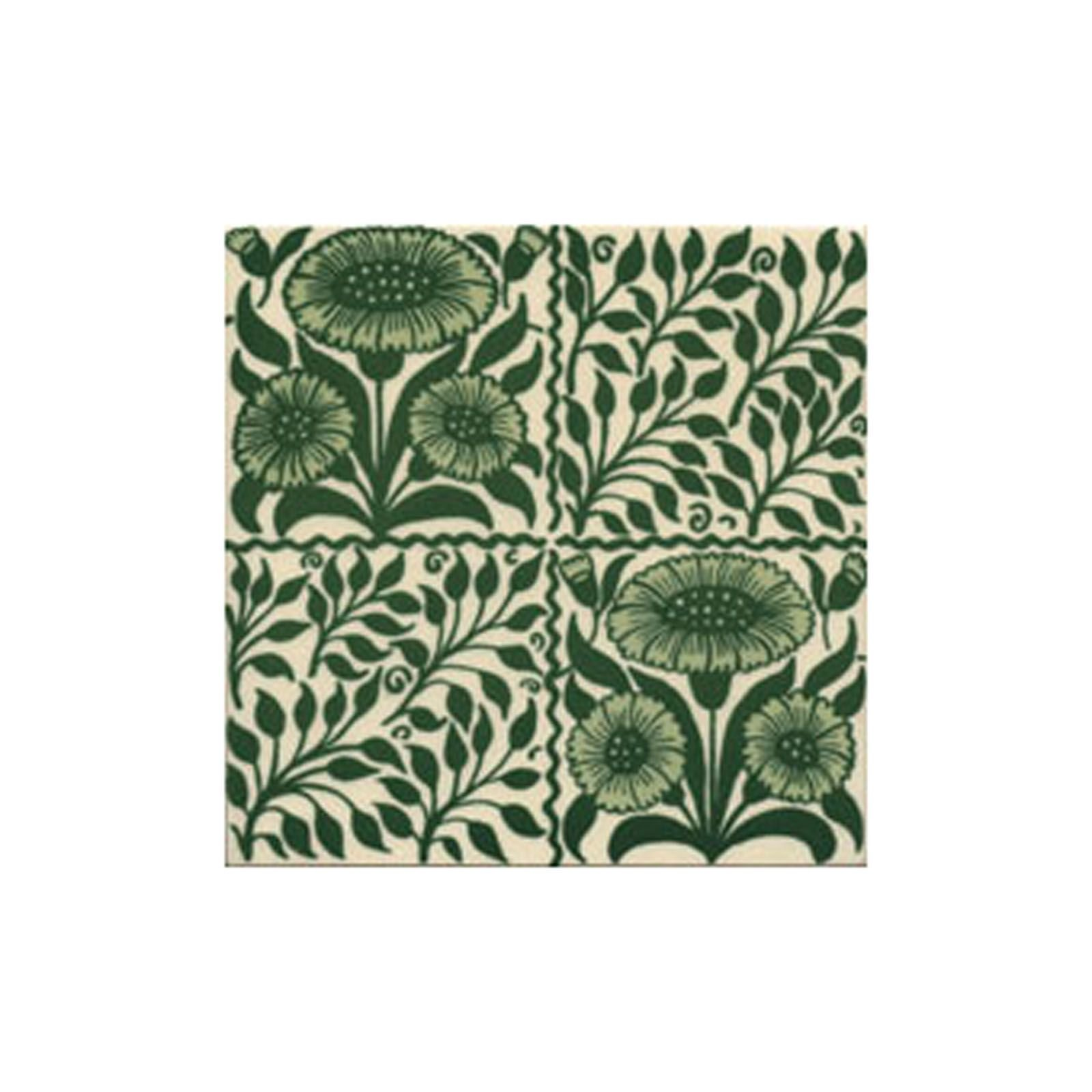 Decorative Wall Tiles For Outside : Victorian oreton green decorative tiles mm