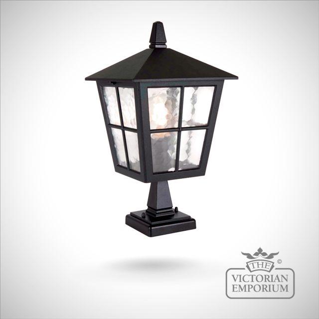 Exterior Pedestal lantern