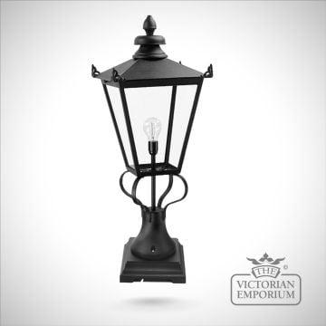 Large period style Wilmslow newel lantern