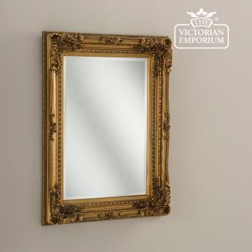 Chanelle Mirror in Gold in a choice of two sizes