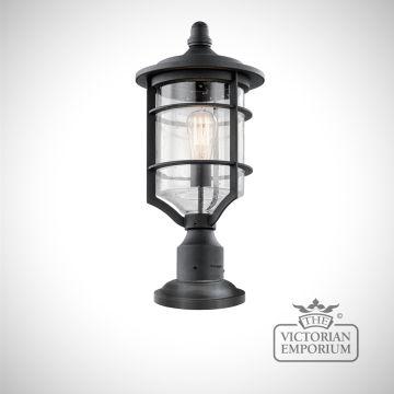 Royal Marine pedestal lantern