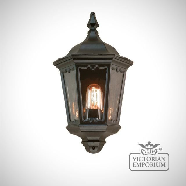 Medstead wall lantern with optional PIR