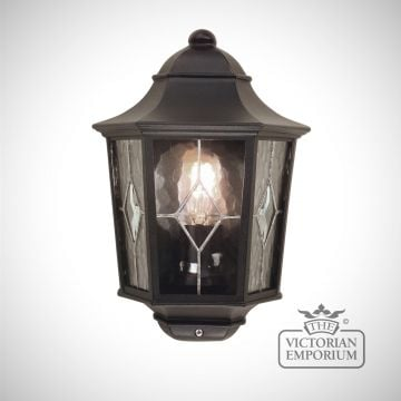 Norfolk flush wall lantern