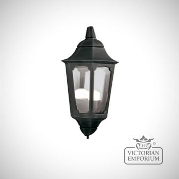 Parish flush mount half wall light