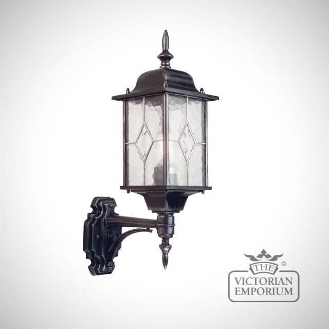 Wexford up wall lantern with optional PIR