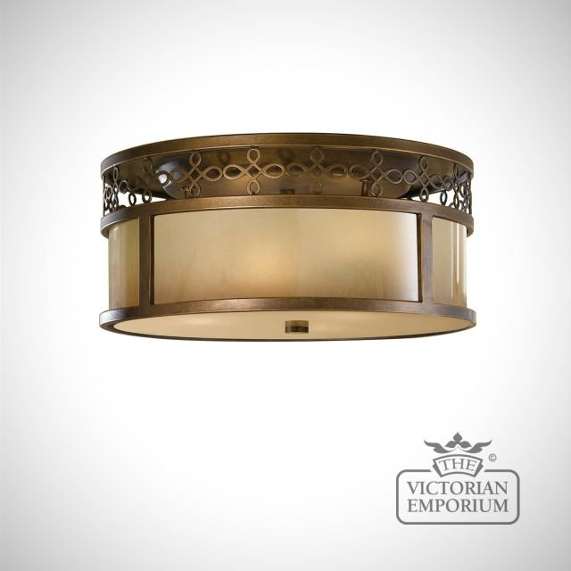 Justine flush mount light