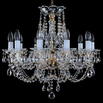 Beautiful 10 arm chandelier