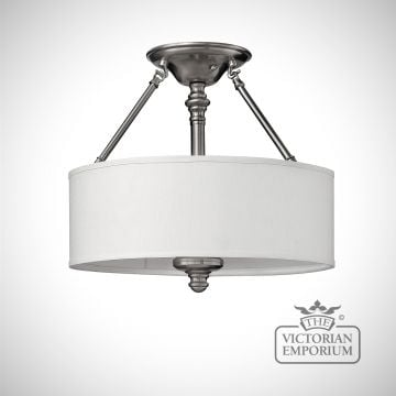 Sussex semi flush mount light