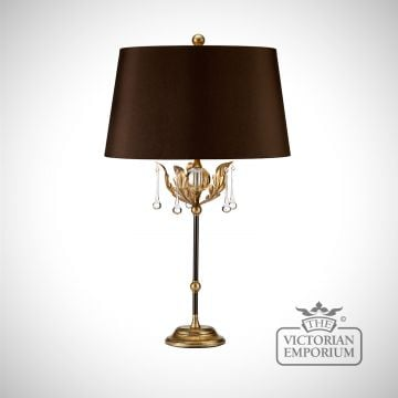 Amarrilli table lamp in gold or silver