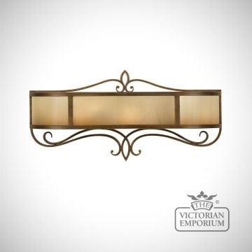 Justine wall vanity light