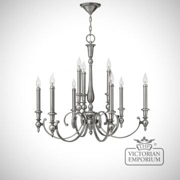 York 9 light chandelier