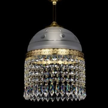 Small pretty ceiling chandelier