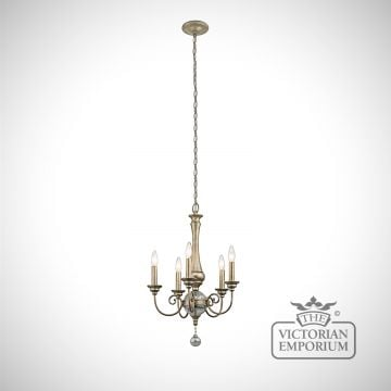 Rosalie 5 light chandelier