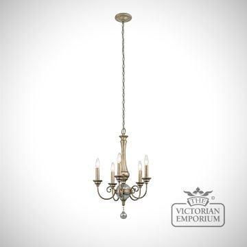 Rosalie 5 light chandelier