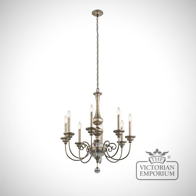 Rosalie 8 light chandelier