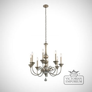 Rosalie 8 light chandelier