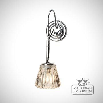 Bathroom wall light - Demelza in a choice of 3 finishes