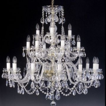 Stunning 21 arm chandelier