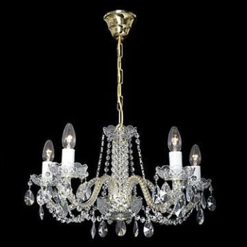 Delicate small chandelier