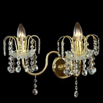 Small delicate wall sconce