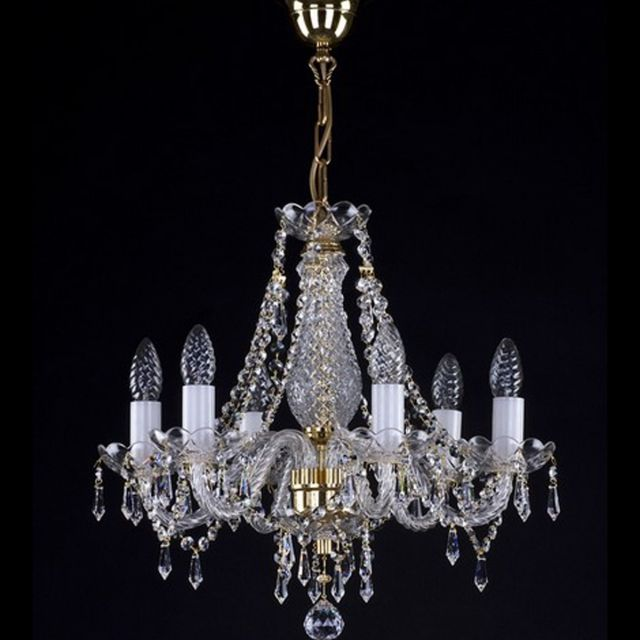 Small chandelier with drops