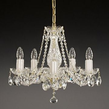 Victorian bohemian crystal ceiling wall chandelier christina