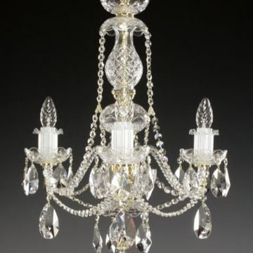 3 arm chandelier
